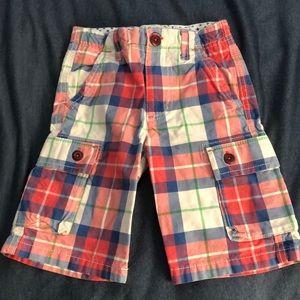 Mini Boden size 6 cargo shorts- EUC